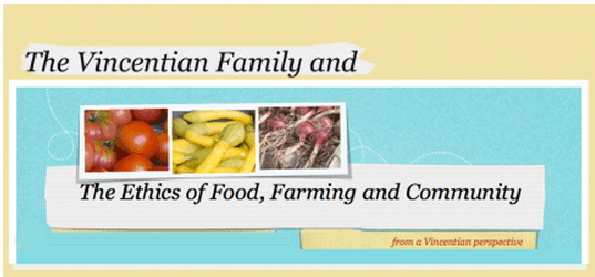 "Vincentians ""between the field and the fork"""