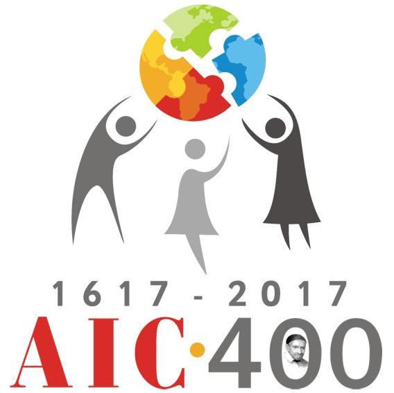 AIC 400th logo