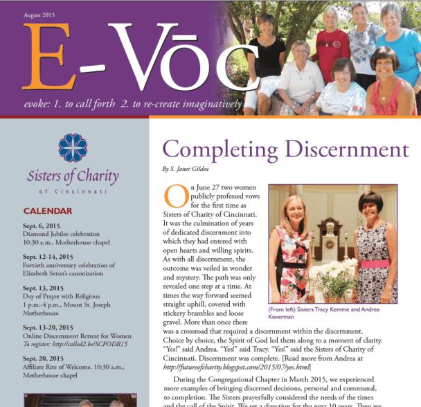 e-voc August 2015