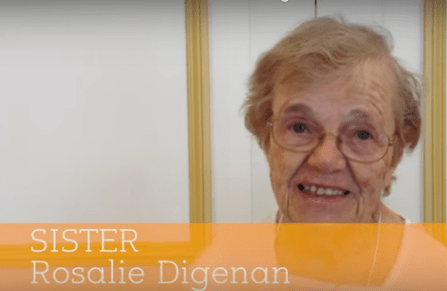 60 Seconds with Sister Rosalie Digenan