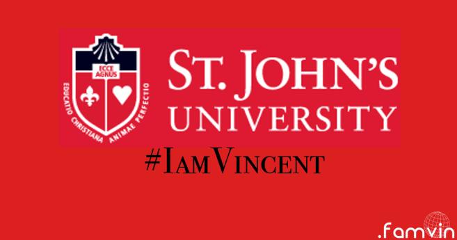 #IamVincent: @ St. John's University