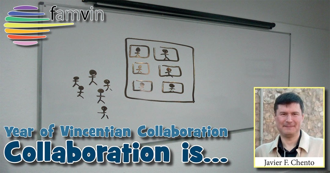 Collaboration is… to know we are needed and also in need of help