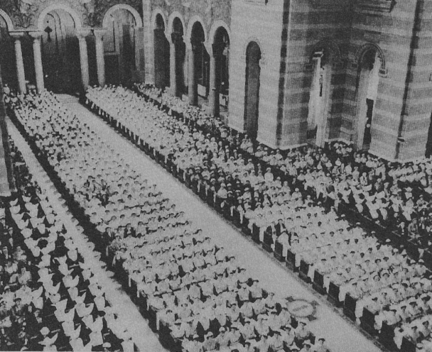 Solemn Mass for the Canonization of St. Louise de Marillac, St. Mary's Cathedral, San Francisco, June 10, 1934