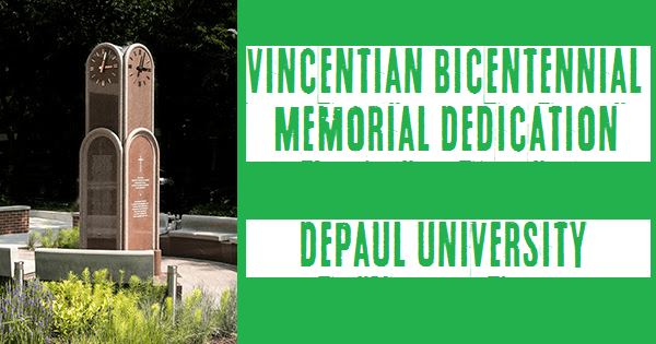Vincentian Bicentennial Memorial Dedication