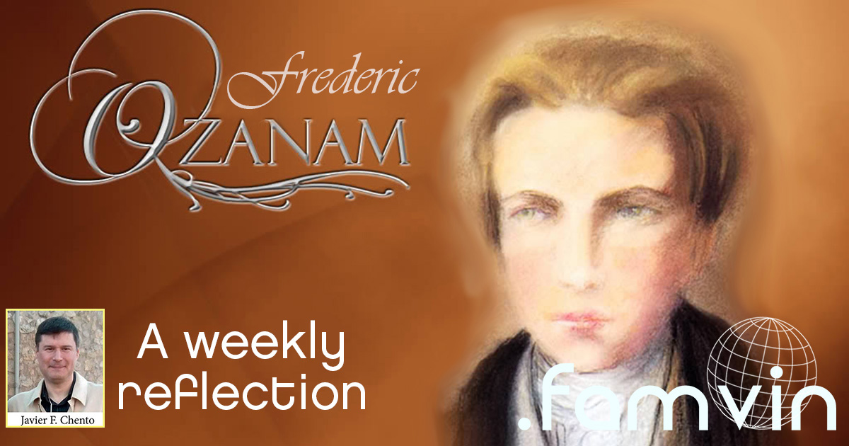 Not Only Giving Alms to the Poor • A Weekly Reflection with Ozanam