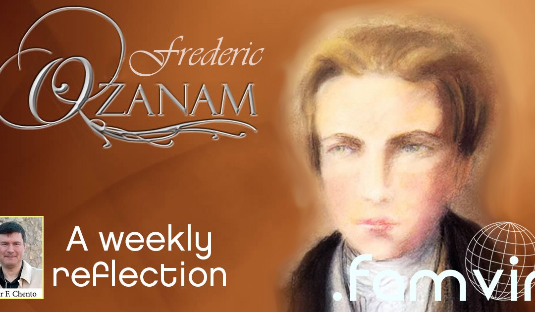 The Situation of the Poor in our Cities • A Weekly Reflection with Ozanam
