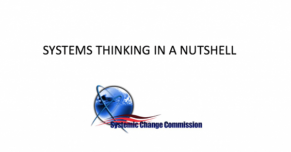 Five Maxims – From Systemic Change Commission
