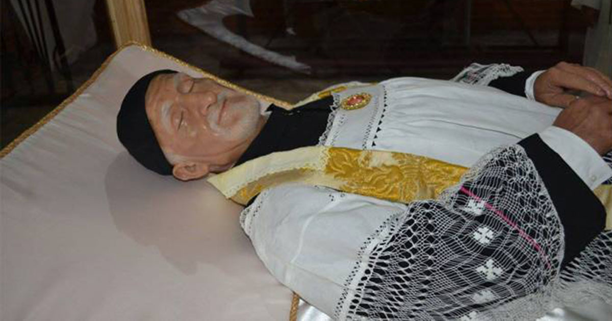 A Relic of St. Vincent de Paul Visits Several Cities of Mexico