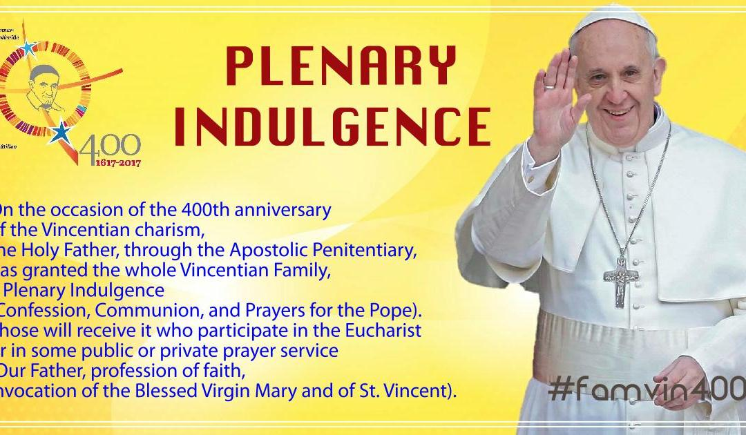 Pope Francis Grants Vincentian Family a Plenary Indulgence #famvin400