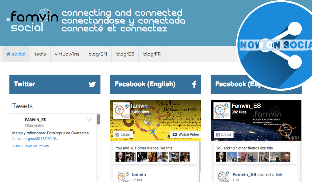 The Renewal of the .famvin Digital Network