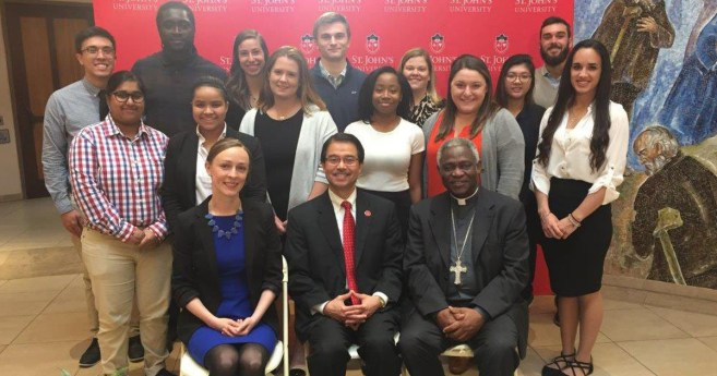 Message from Cardinal Turkson to the Graduates of St. John's University
