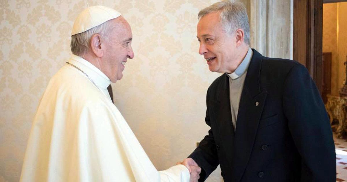 Pope Francis Met Tomaž Mavrič, CM, Superior General