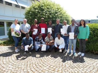 Language Course Project serving Migrant people in Paderborn Germany 2017