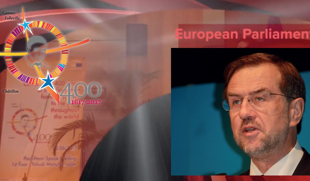 Speech of Mr. Peterle at the 400th Anniversary Event in the European Parliament