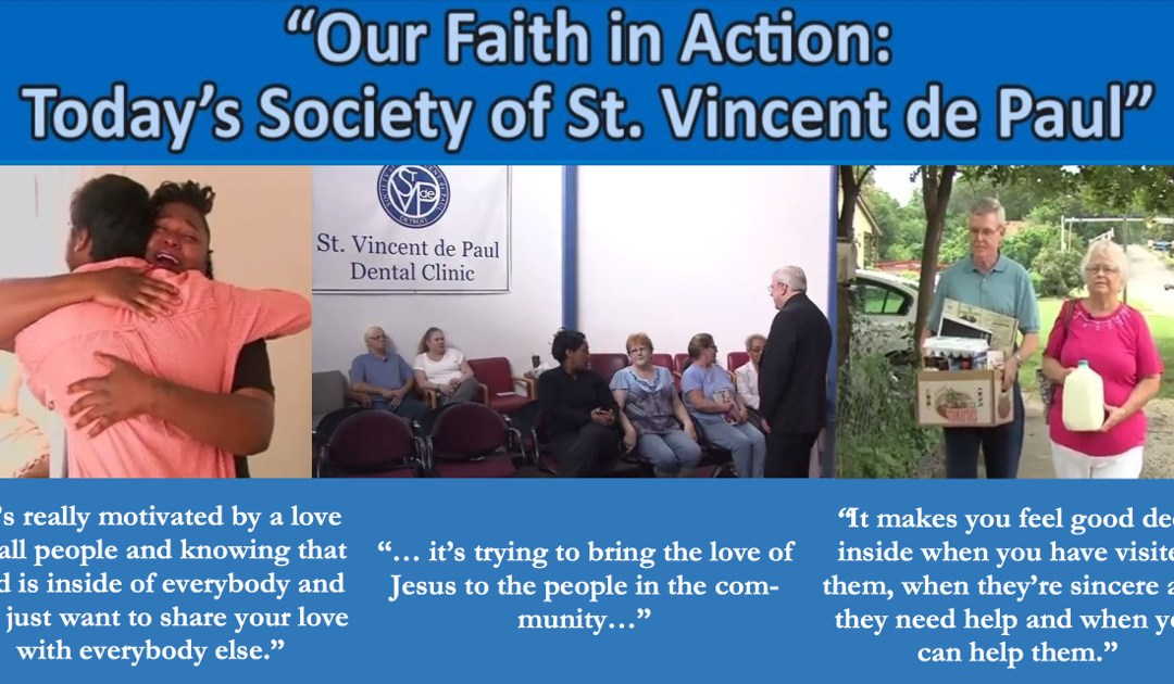 "SVDP ""Our Faith in Action"" TV Show on EWTN"