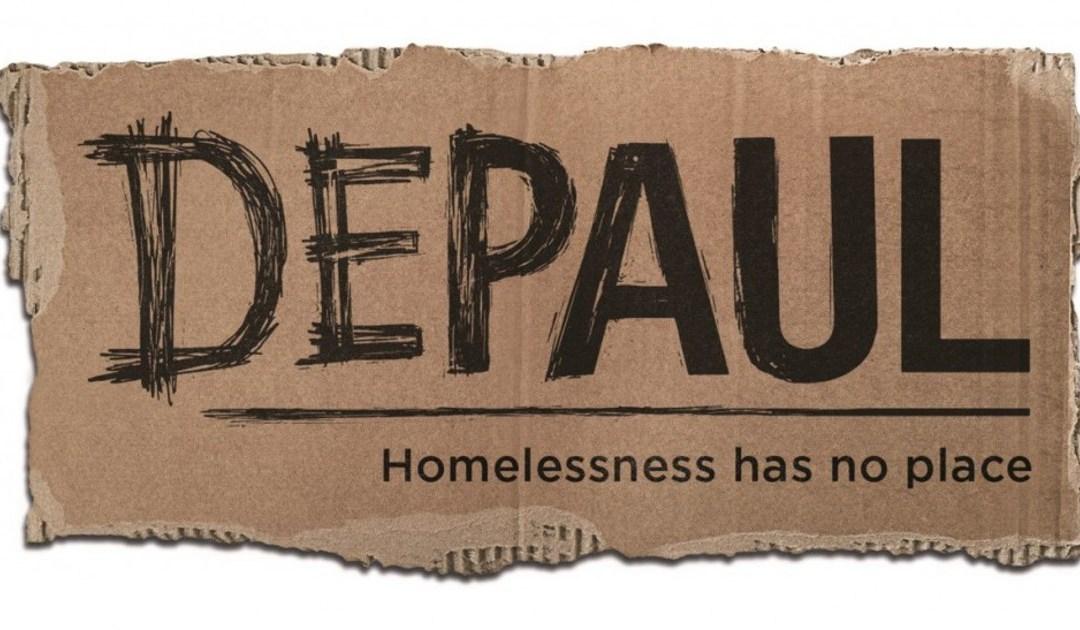 London: Golfing Legend Visits Depaul's New Homeless Center