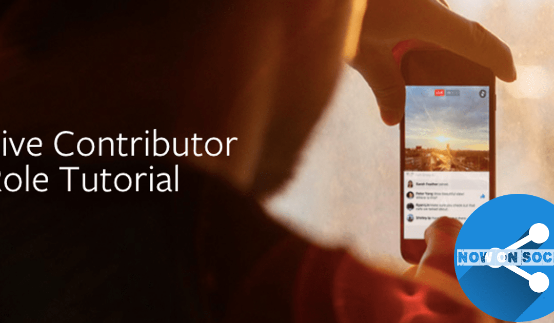 Now on Social: Facebook Live for Pages