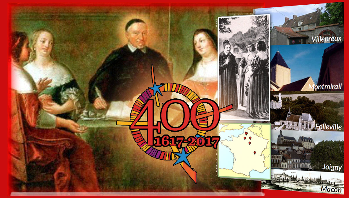 St. Vincent's First Foundation: The Ladies of Charity #AIC400 #famvin400