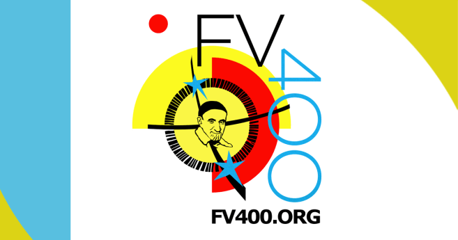 "Logo and Information about the Festival and Contest ""Finding Vince 400"""