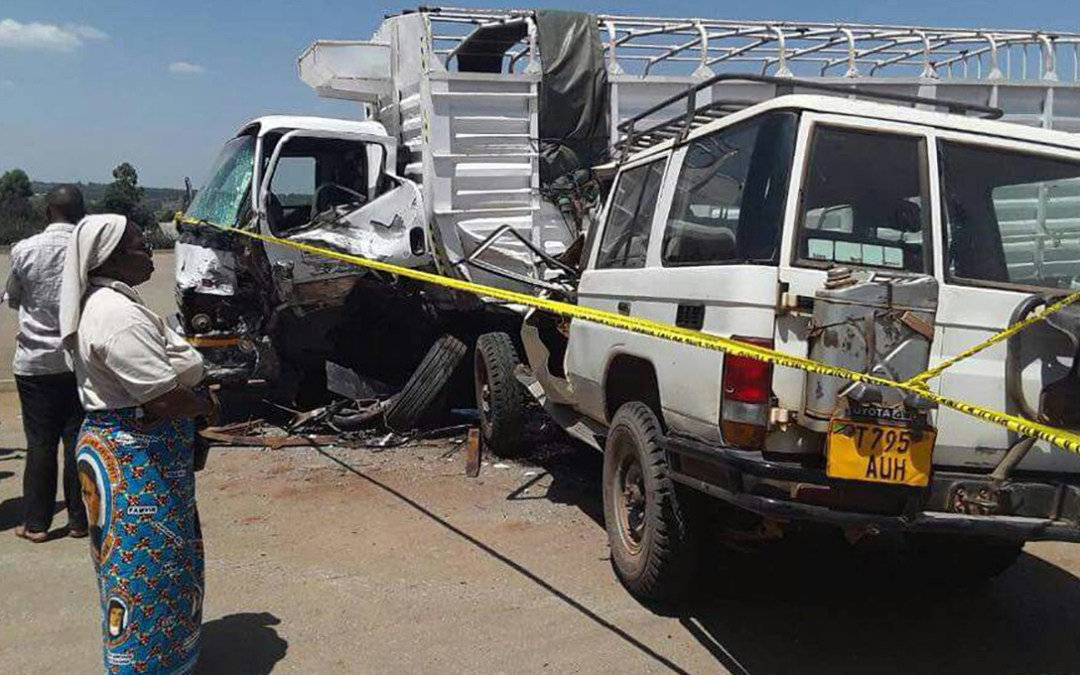 A Daughter of Charity Dead and Two Injured in a Car Accident in Tanzania (Africa)