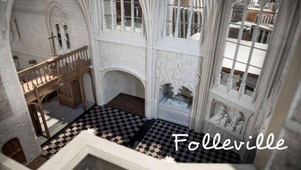 Folleville Church Model Unveiled at DePaul University