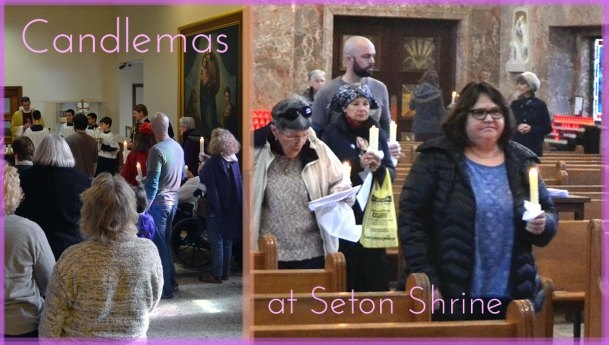 Candlemas Celebratedat The National Shrine of Saint Elizabeth Ann Seton