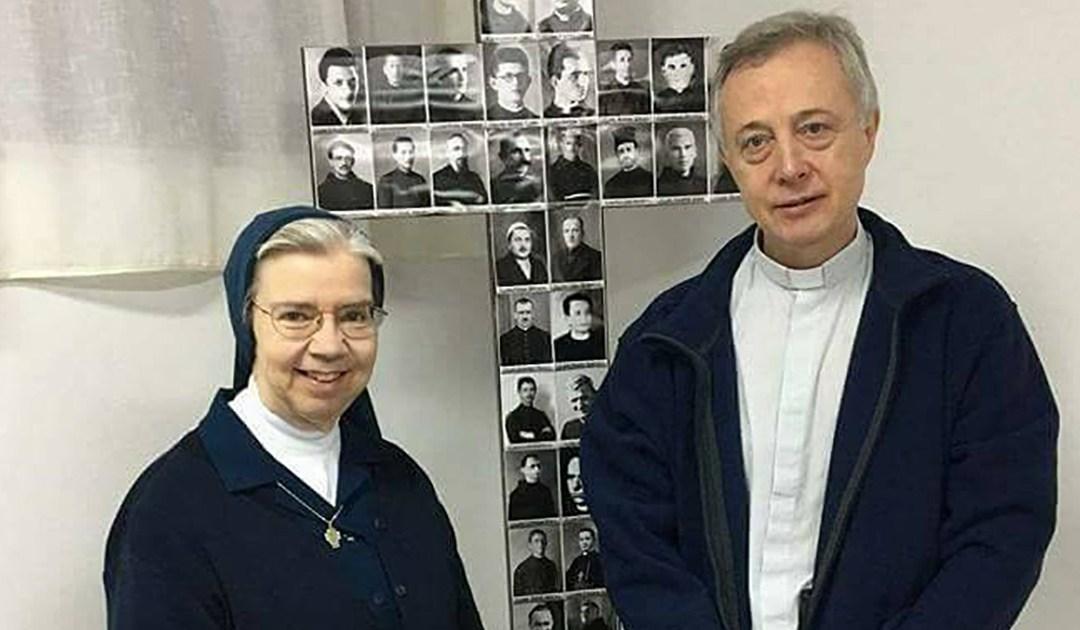 Fr. Tomaž Mavrič, C.M. and Sr. Kathleen Appler D.C. visited Kosovo and Albania