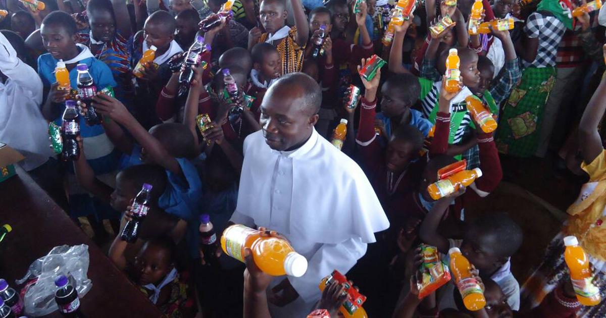 Chaplain of the Camp of Burundian Refugees at Mahama in Rwanda (Africa)