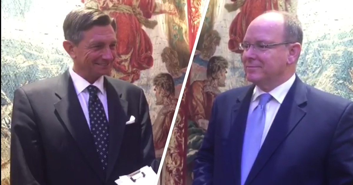 Interviews with Borut Pahor, President of Slovenia, and Albert II, Prince of Monaco, in Support of the Akamasoa Project