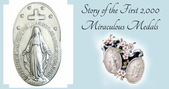 June 30: First Miraculous Medals