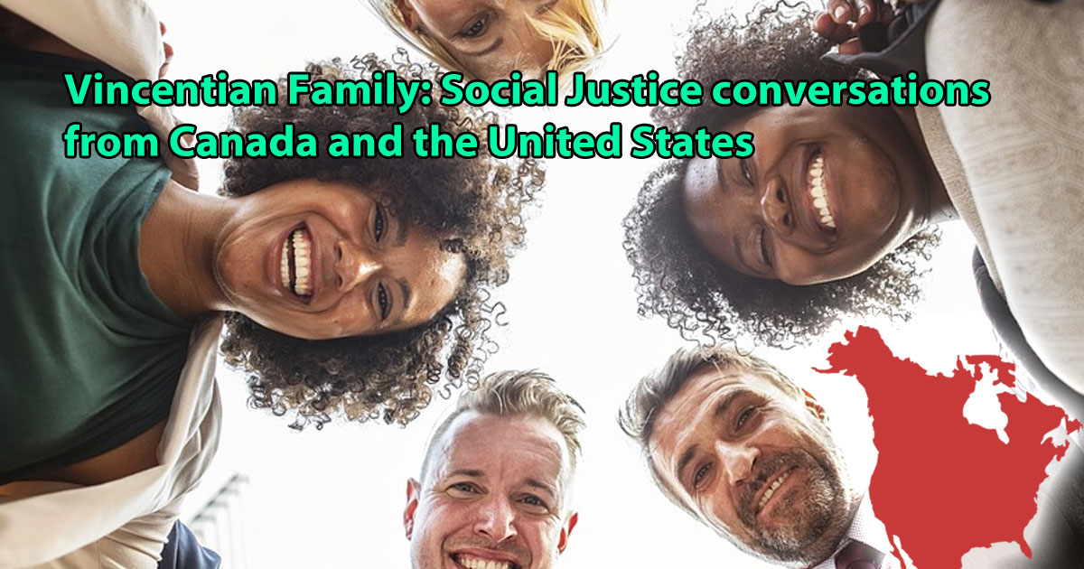 Vincentian Family of Canada and the U.S. Social Justice Representatives