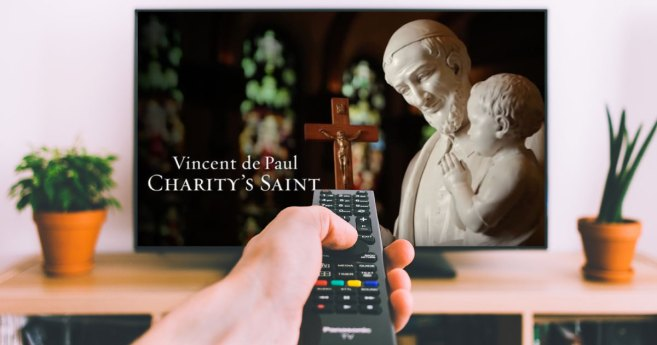 "Movie documentary: ""Vincent de Paul: Charity's Saint"""