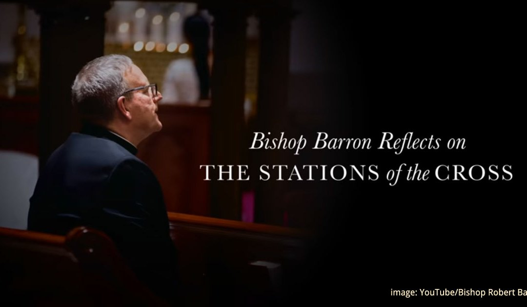 The Stations of the Cross with Bishop Barron (Video)