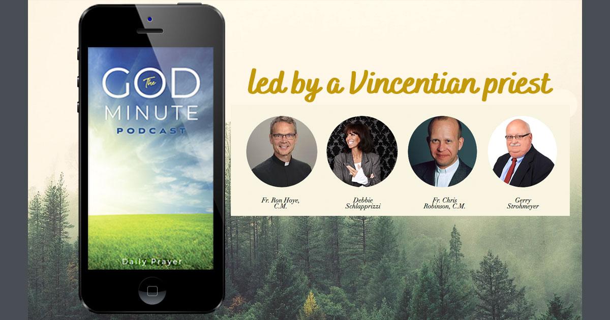 Daily Prayer Podcast: The God Minute - FAMVIN NewsEN
