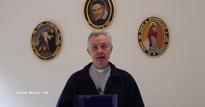 Easter Message from Fr. Tomaž Mavrič, C.M., President of the Executive Committee of the Vincentian Family