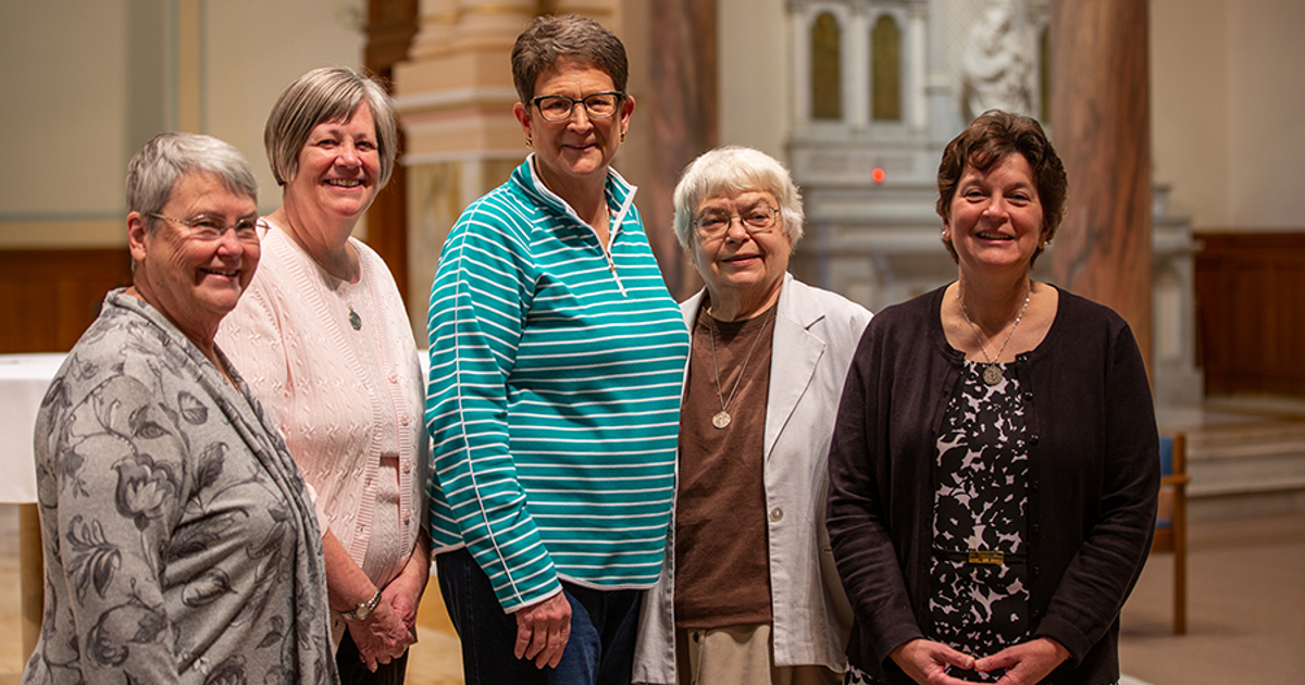 Sisters of Charity of Cincinnati Elect New Leadership Team