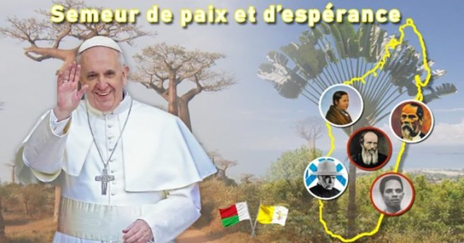 Apostolic Journey of the Holy Father to Mozambique, Madagascar and Mauritius (4 -10 September 2019)