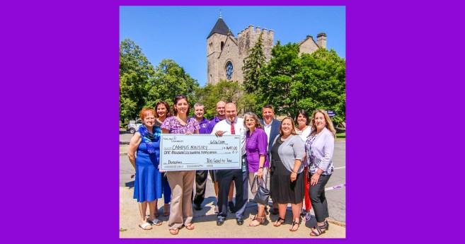 Niagara University's Community Garage Sale Program Raises $1,700 for Campus Ministry