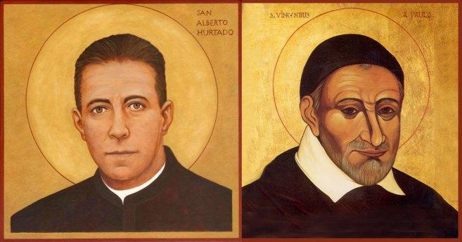 When Vincentian and Jesuit Saints Meet