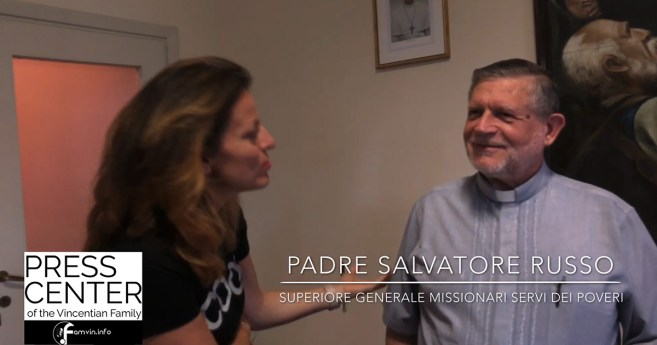 Interview with Father Salvatore Russo, Superior General of the Missionary Servants of the Poor