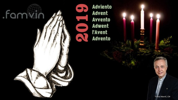 Advent Letter 2019 by Fr. Tomaž Mavrič, CM