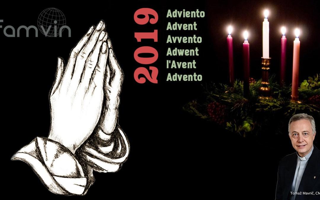 Advent Letter 2019 by Fr. Tomaž Mavrič, CM