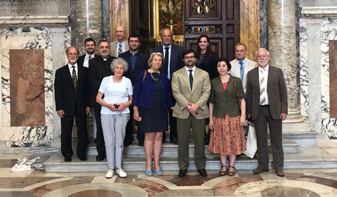 Participation of an AIC Representative in a Meeting of the Forum of Catholic-inspired NGOs in Rome