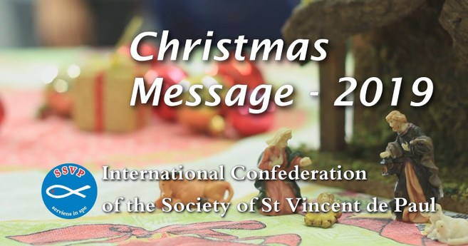 Christmas Message from Renato Lima, General President of the Society of St. Vincent de Paul