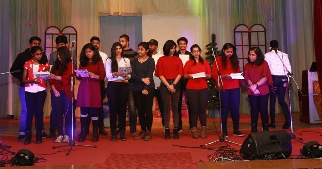 Super Christmas Carols Performed by Foreign Catholic Students (IMCS) in Ukraine
