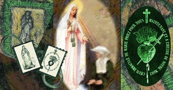 Sister Justine Bisqueyburu, D.C. and the Green Scapular