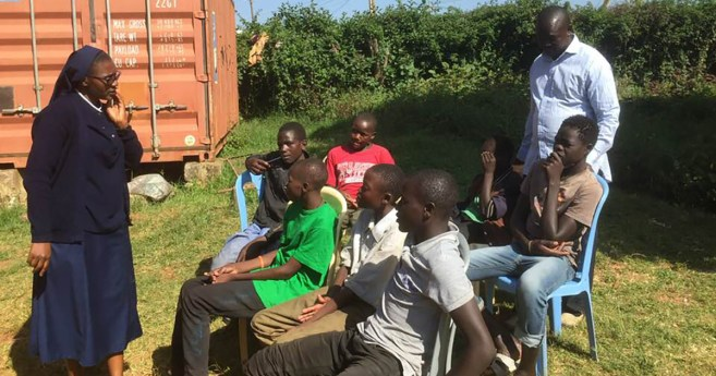 13 Houses Campaign and Street Children in Kenya