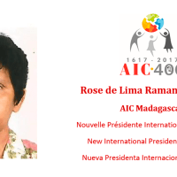 Rose de Lima Ramanankavana (Madagascar), New President of the International Association of Charity
