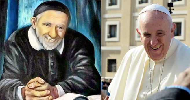 Smiling With Vincentians and Popes