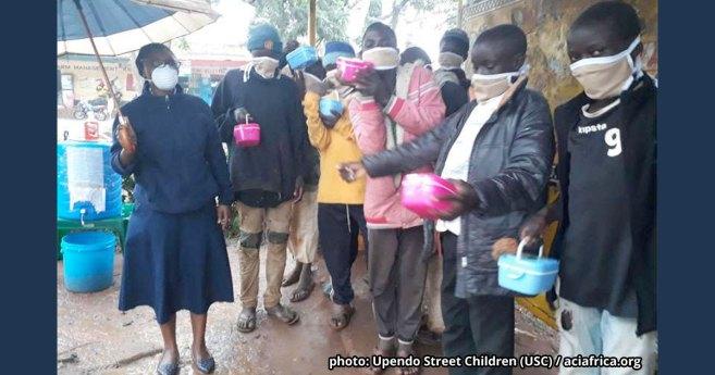 Kenyan Nun Braving Harsh COVID-19 Times to Sustain Street Feeding Program